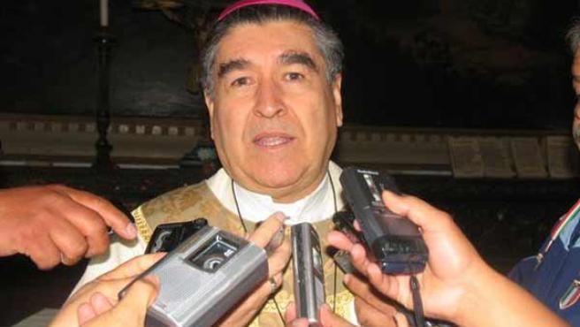 El obispo Felipe Arizmendi, en una imagen de los medios locales de Chiapas.