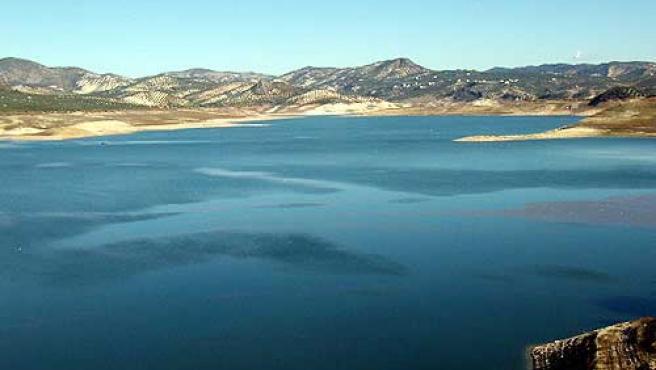El pantano de Iznájar, en una imagen de 2008.