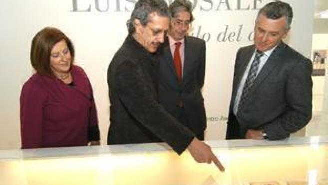 El Consejero Paulino Plata Visita La Exposición