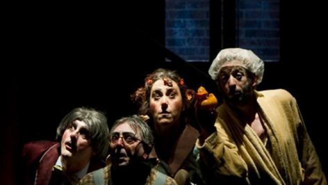 Cartel De 'Inquilinos', De Azar Teatro