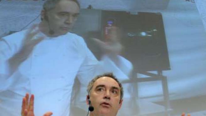 El cocinero Ferran Adrià, en una imagen de archivo.
