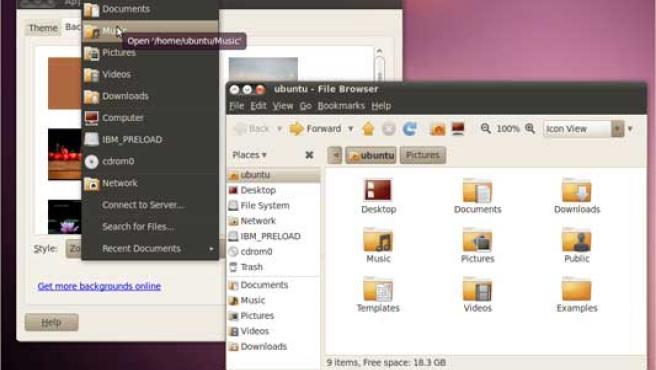 Ubuntu 10.04 presenta un diseño totalmente nuevo.
