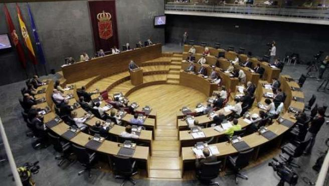 Mesa y Junta del Parlamento estudian mañana la petición de NaBai para que Sanz informe del recurso a la ley del aborto