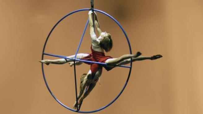 Imagen De Uno De Los Trabajos De Cirque Éloize