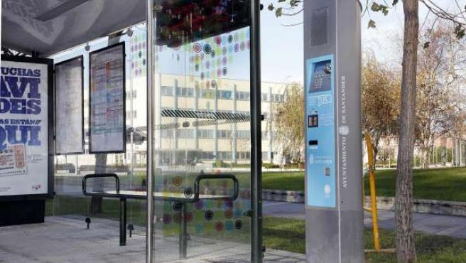 En unos días estarán en servicio nuevas terminales de recarga de tarjetas del TUS en las paradas