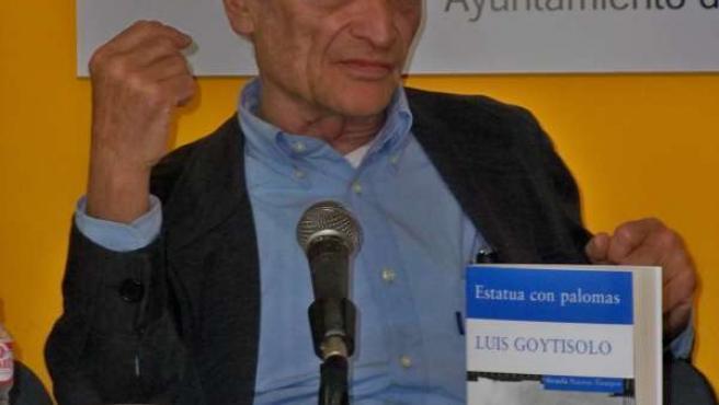 Luis Goytisolo, En La Feria Del Libro De Valladolid.