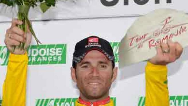 Alejandro Valverde, vencedor del Tour de Romandía.