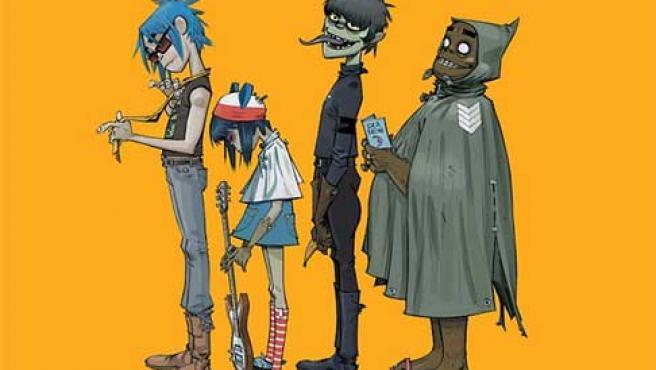 El grupo virtual Gorillaz.