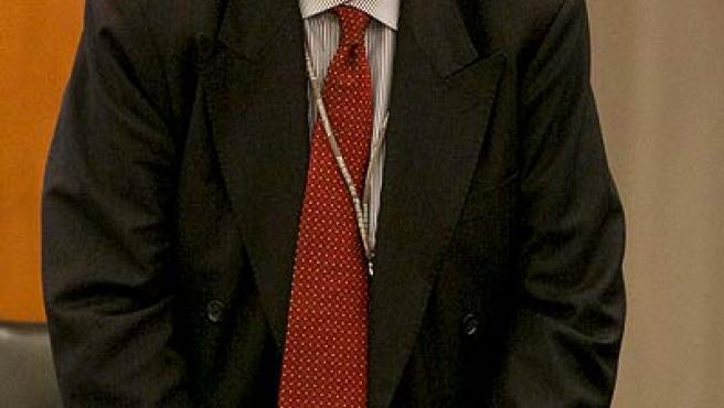 El presidente del BCE, Jean-Claude Trichet, en el Consejo directivo del BCE en Lisboa.