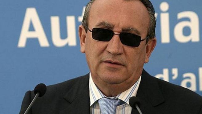 El presidente de la Diputación de Castellón, Carlos Fabra.