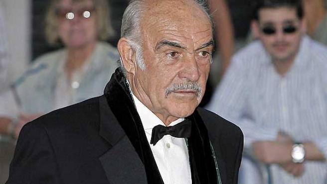 Una imagen de archivo de Sean Connery.