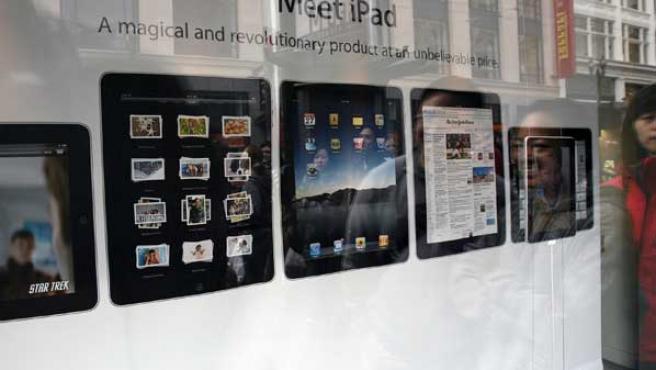 El iPad llegará a España el 28 de mayo.