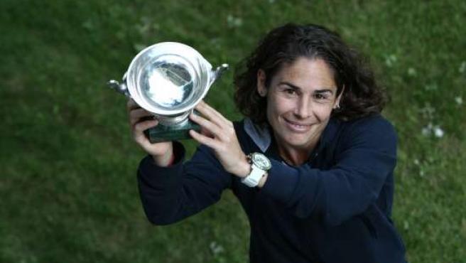 La tenista Viví Ruano.