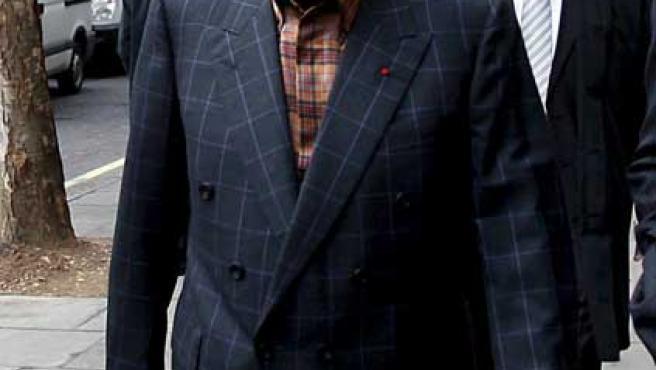 El propietario de los grandes almacenes londineses Harrods, Mohamed Al Fayed.