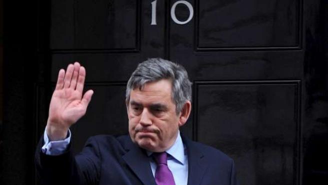 El primer ministro británico, Gordon Brown.