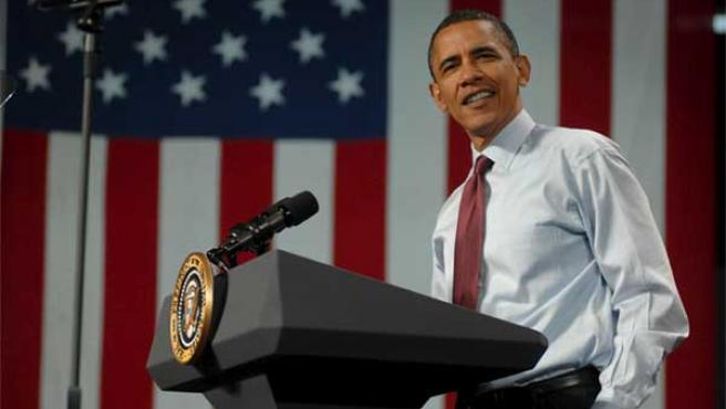 Obama, durante un discurso en Búfalo, la tierra de las alitas de pollo.