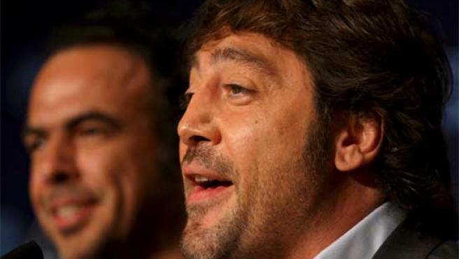 Bardem e Iñárritu, en Cannes.