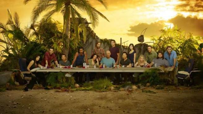 Los protagonistas de la sexta temporada de 'Perdidos'.