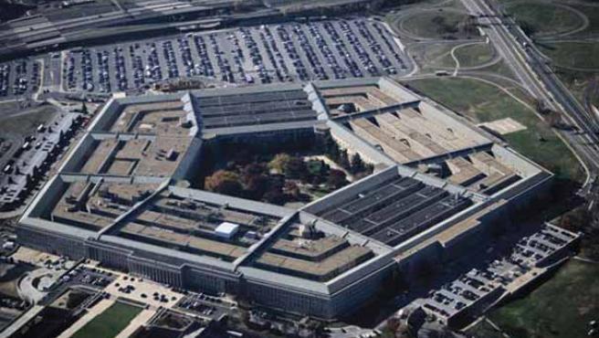 Imagen aérea del Pentágono.