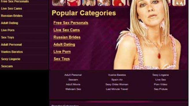 Dominio de Internet Sex.com.