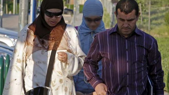 La joven Najwa Malha fue expulsada de su colegio en Pozuelo de Alarcón (Madrid) por llevar el velo islámico.
