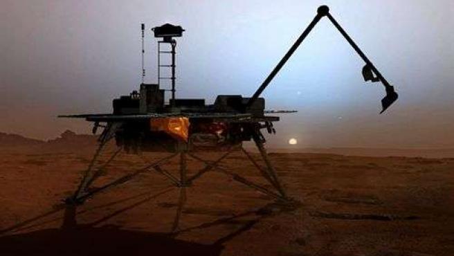 La sonda Phoenix estuvo activa durante menos de 6 meses en la superficie marciana.