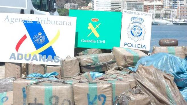 La Droga Incautada En Málaga