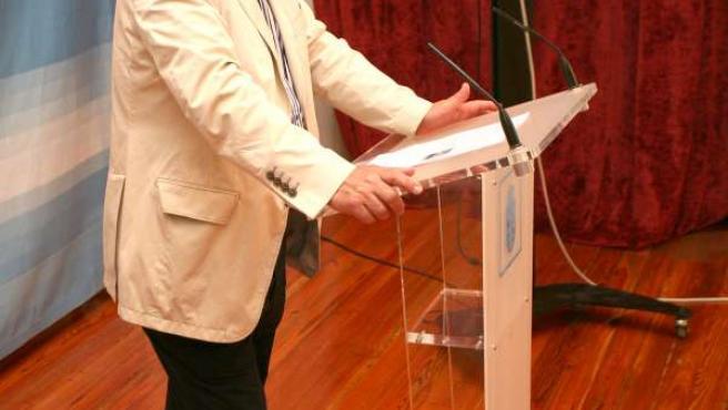 El concejal de Fiestas de A Coruña, Carlos González Garcés