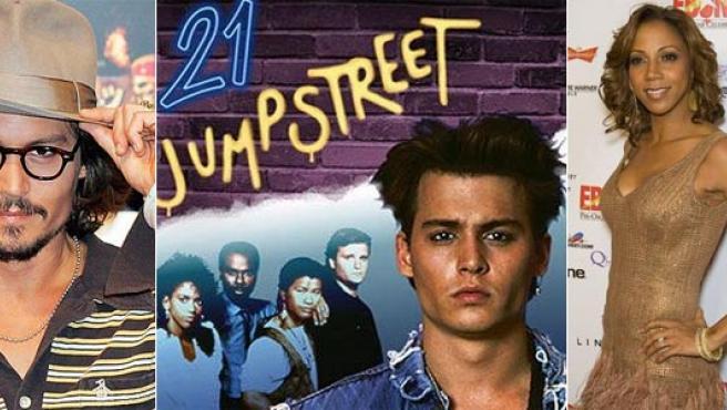 'Nuevos Policías' supuso el salto a la fama de actores como Johnny Depp y Holly Robinson.