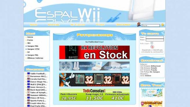 Espalwii ha sido una de las páginas web cerradas.