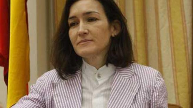 Ángeles González-Sinde, ministra de Cultura.