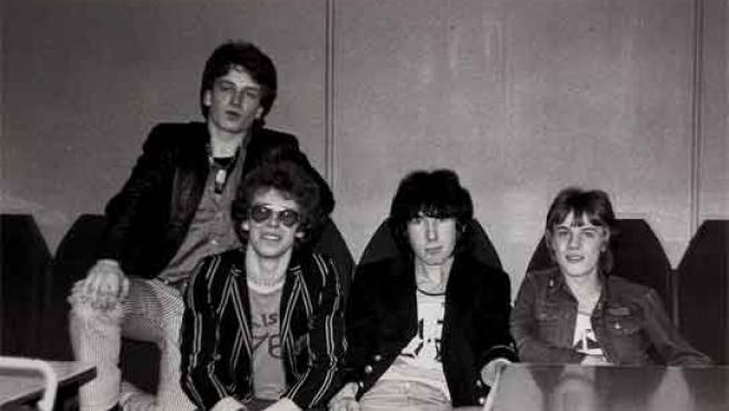 Una de las fotos que salen a subasta de U2.
