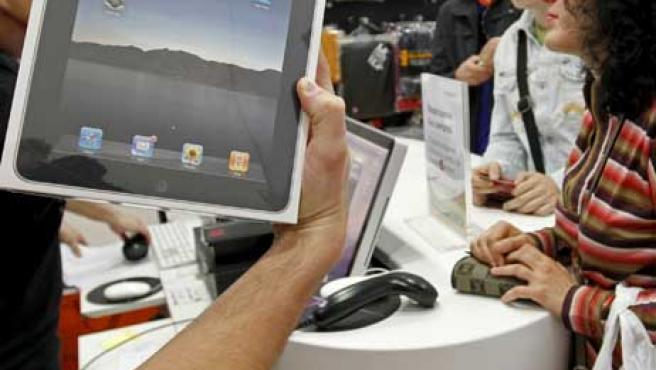 El iPad ya está a la venta en España.