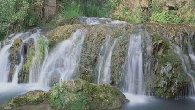 Imagen del Parque Natural Barranco del Río Dulce, en Mandayona, (Guadalajara).