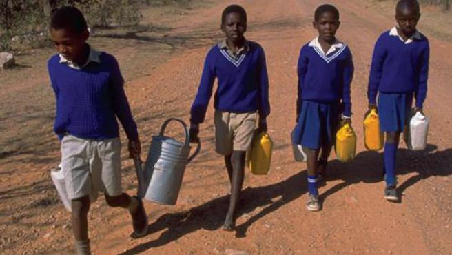 Los universitarios voluntarios trabajarán durante seis meses en un país pobre.