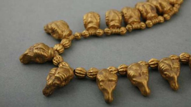 La exposición 'El oro de los argonautas. Tesoros del Museo Nacional de Georgia'