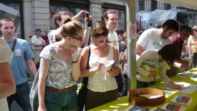 Imagen del festival turístico de Londes Regent Street.