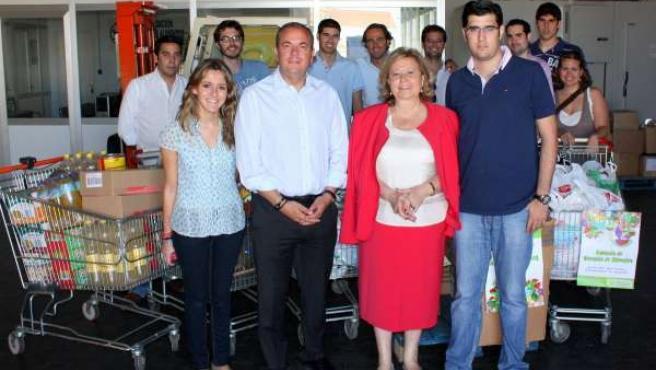 PP en el Banco de Alimentos de Badajoz