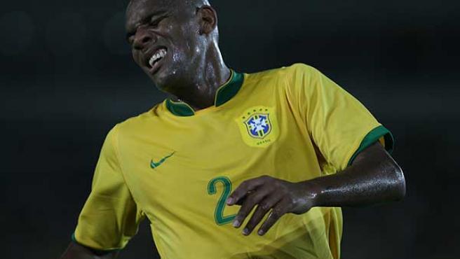 Maicon, jugador del Inter de Milán