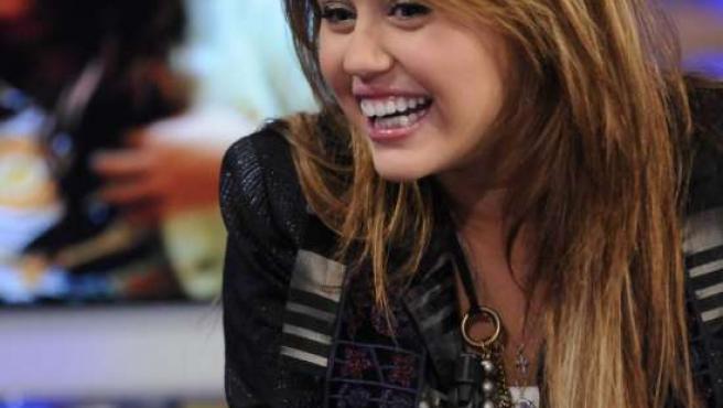 La actriz y cantante Miley Cyrus.