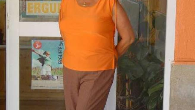 Carmen Avendaño, presidenta de la Asociación de Ayuda al Toxicómano Érguete.