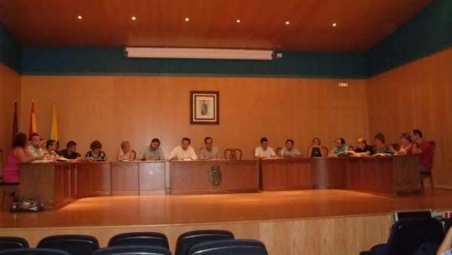 Pleno del Consistorio de Santomera