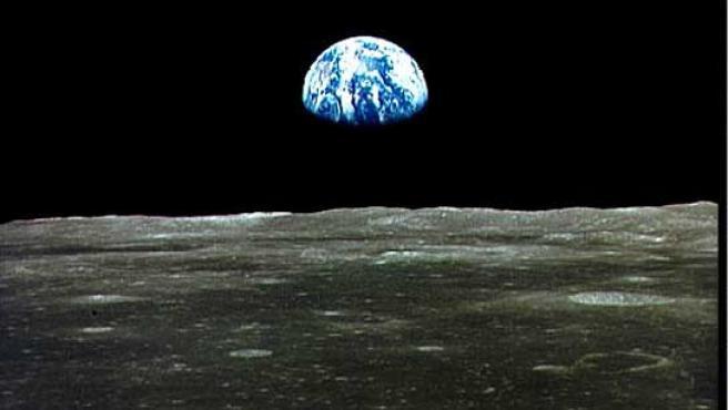 La Tierra vista desde la Luna.