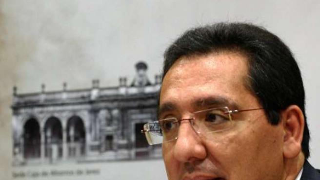 Antonio Pulido, presidente de Cajasol