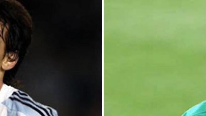 Leo Messi (i) y Cristiano Ronaldo lucharán por convertirse en el mejor jugador del Mundial.