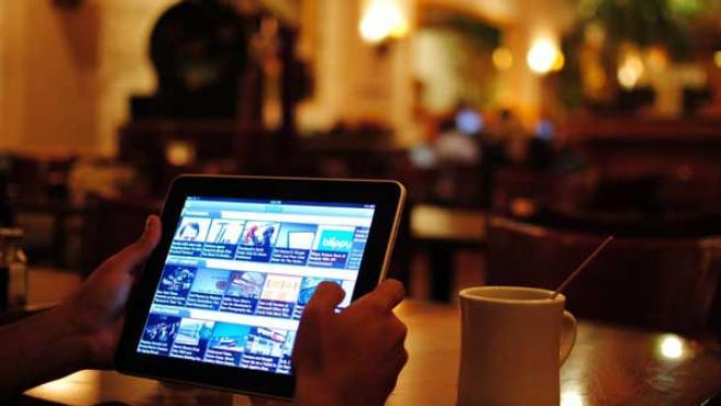 Imagen del iPad, de Apple.