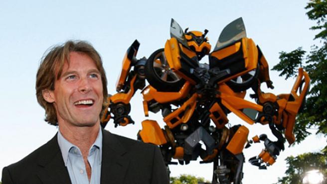 Michael Bay, director de 'Transformers'.