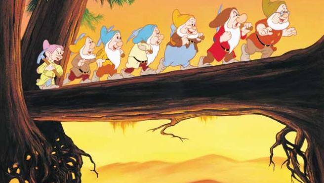 Un fotograma de 'Blancanieves', de Disney.