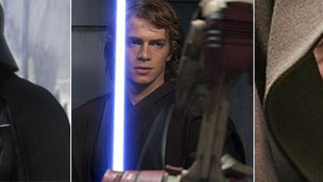 Anakin Skywalker y Darth Vader.