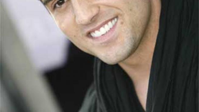 David Bustamante, durante la presentación de su último disco.
